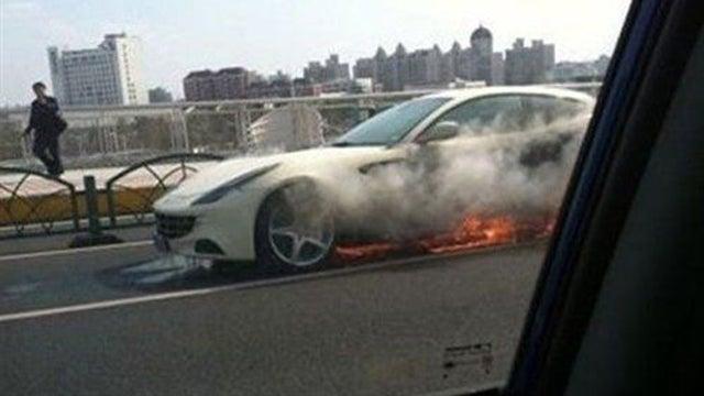 Does The FF Stand For 'Ferrari Flambé'?