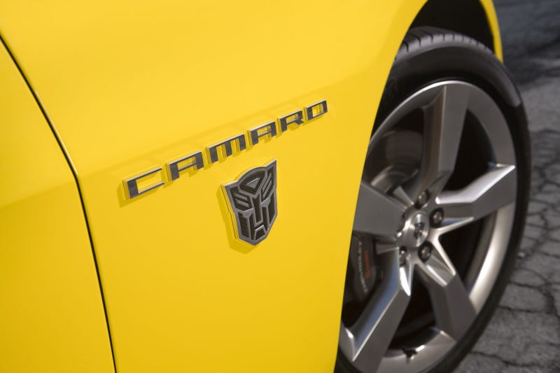 Chevy Camaro Transformers Edition: Robogasm In Plain Sight