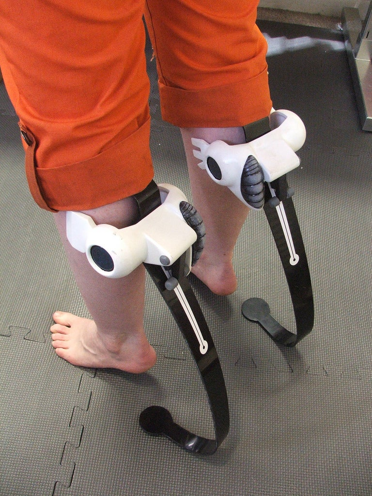 Portal Boots Look Great in the Real World