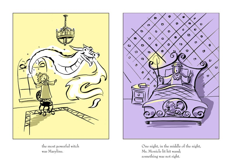 What if Harry Potter was written like a Madeline book?