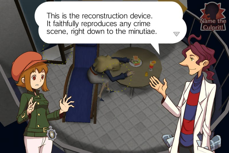 Don't Tell Professor Layton, But I'm Certain This Is Not His Son