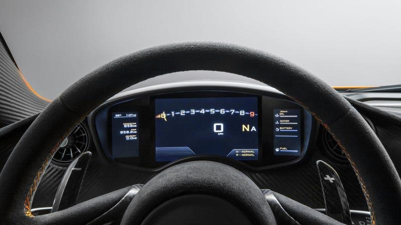 This Is The McLaren P1's Interior