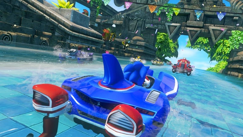 Piss Off Your Friends Once Again In Sonic & All-Stars Racing Transformed