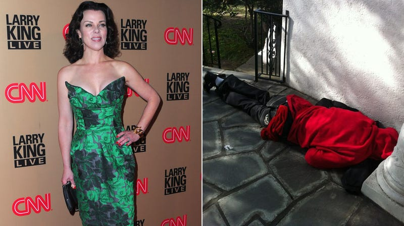 The Crazy Tale of a Homeless Man Jacking Off on Debi Mazar's Front Stoop
