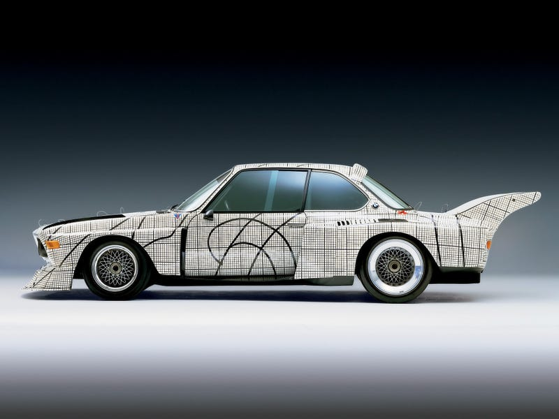 BMW Art Cars Exhibitted At LA County Museum of Art