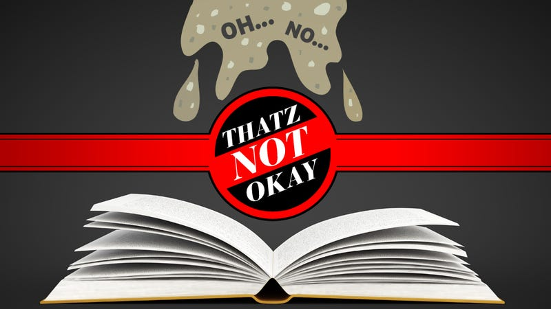 Thatz Not Okay: Barfing in a Library Book; Networking Over Cock-tales