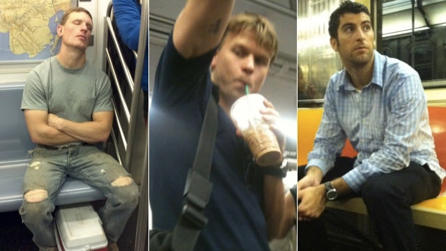 New Yorkers Are Posting Creepy Cell Phone Pics of Hot Guys on the Subway Online