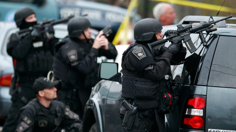 All Of Boston Is Shut Down As Police Search For Bombing Suspect
