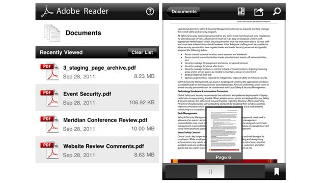 Adobe Finally Launches Official Reader App for iOS