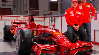 More Whistles, Fewer Bells: Ferrari Premieres 2008 F1 Racecar