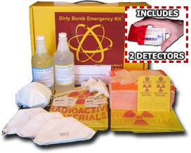 Dirty Bomb Emergency Kit Appeals to the Paranoid in Me