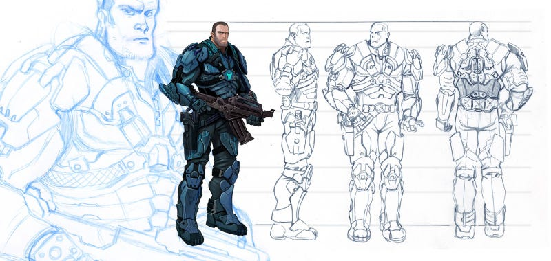 Halo MMO Concepts: What Your Sexy Mistress Chief Could Have Looked Like