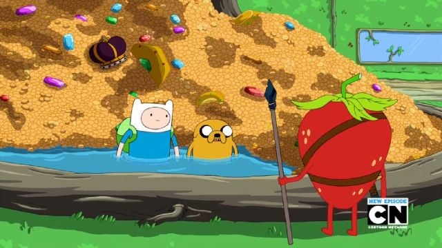Jake Doesn't Handle Being Rich Well On This Week's Adventure Time