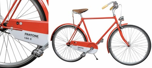 I Want to Ride My Pantone Red 186C Bicycle, I Want to Ride My Bike...
