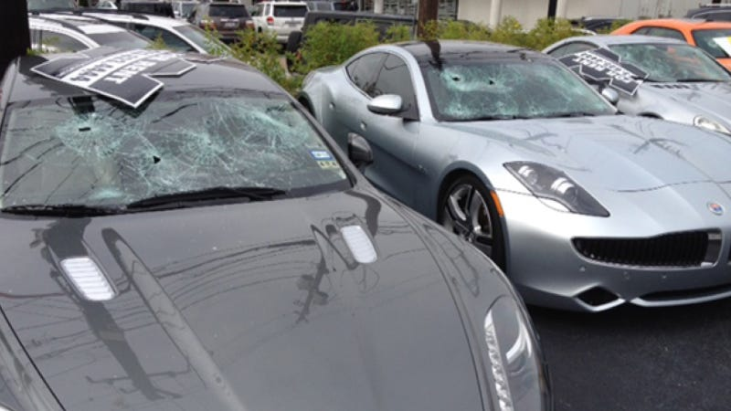 Shotgun-Wielding Naked Man Trashes Fisker, Other Fancy Cars In Houston