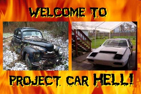 Project Car Hell, Nightmare On A Budget Edition: Iked Lotus Elite or Haunted Skoda 1101?