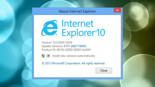 Internet Explorer 10 Release Preview Is Available Now for Windows 7
