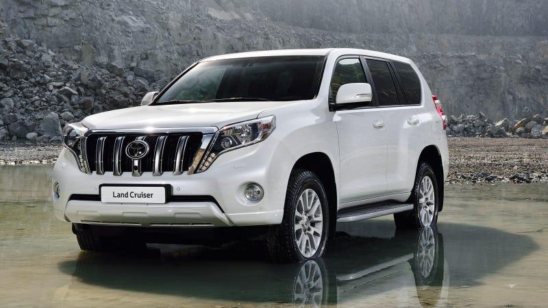 The 2014 Toyota Land Cruiser Prado Wants To Eat Your Children