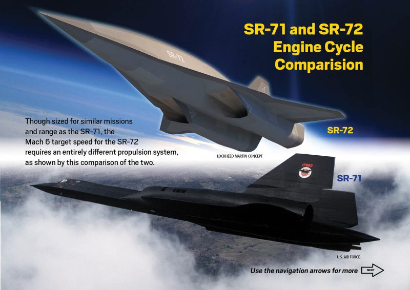 This is the amazing Lockheed Martin SR-72—the space Blackbird