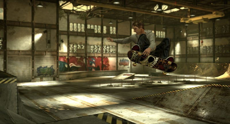 Old Tony Hawk's Levels, New Tony Hawk's Graphics