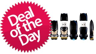 These Batman Mimobot Flash Drives Are The USB-Drives-Gotham-Needs-Them-To-Be Deal of the Day