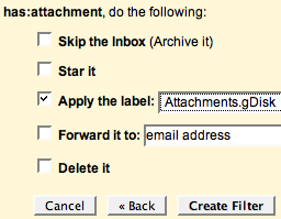 Advanced file and attachment management with Gmail