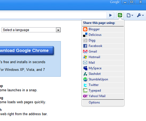 Socialize Chrome Without Switching Browsers (aka, Who Needs RockMelt?)