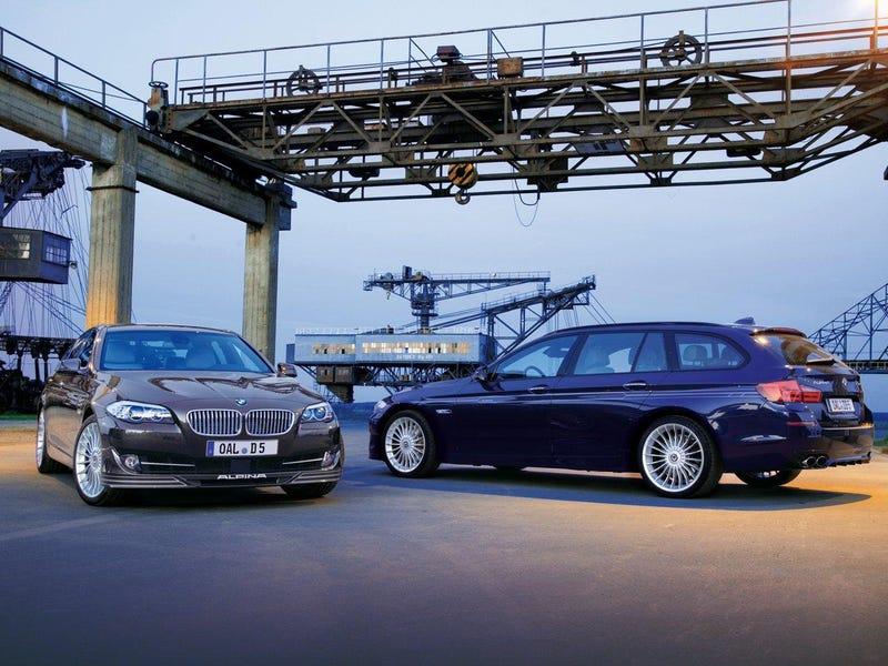 Alpina B6 and D5: Dort wütet ein Turbomotor