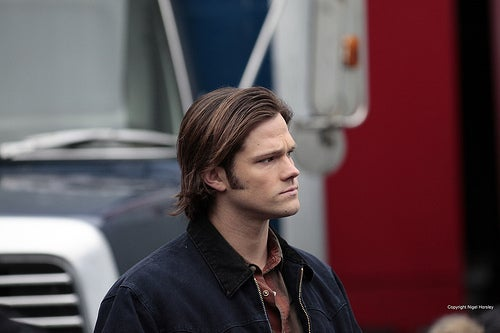 Behind the scenes 'Supernatural' photos