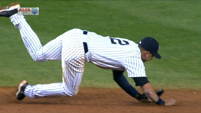 Derek Jeter Fractures Ankle, Is Done For Season, And The Yankees Lose Anyway