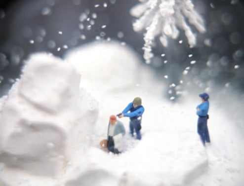 Super Creepy Snow Globes are Filled With Death, Not Cheer