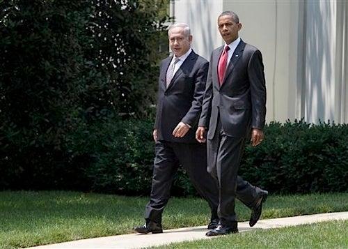 Obama, Netanyahu Put On Elaborate Friendship Ritual for Press