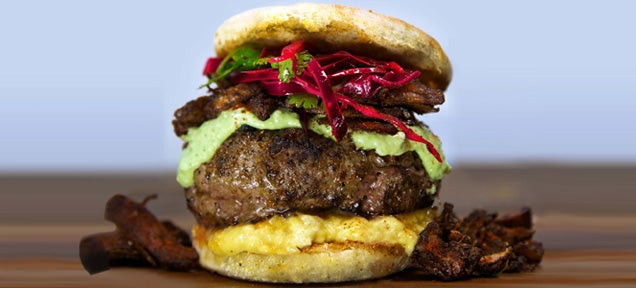 This Mexican beauty is the perfect burger brunch to cure a hangover