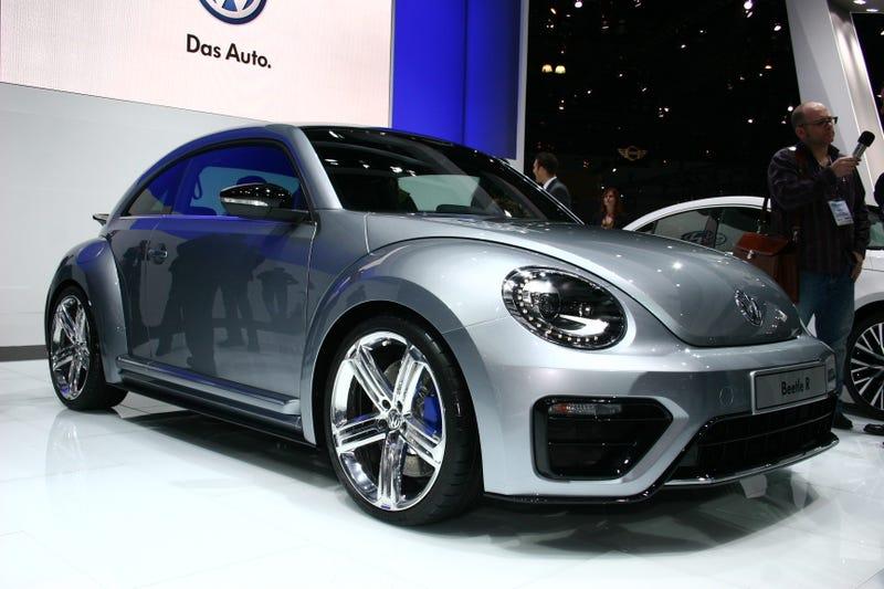 Volkswagen Beetle R: Live Photos