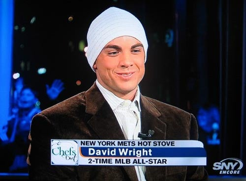 David Wright Has A Head Wound