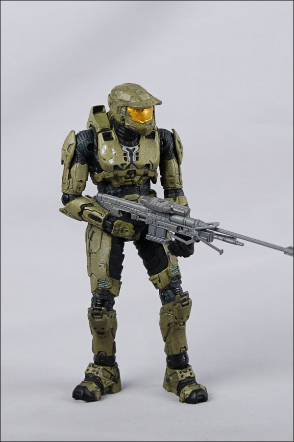 The Halo Toy Box Set Charting the History of Master Chief