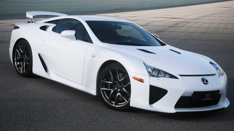 Is the Lexus LFA today's Jaguar XJ220?