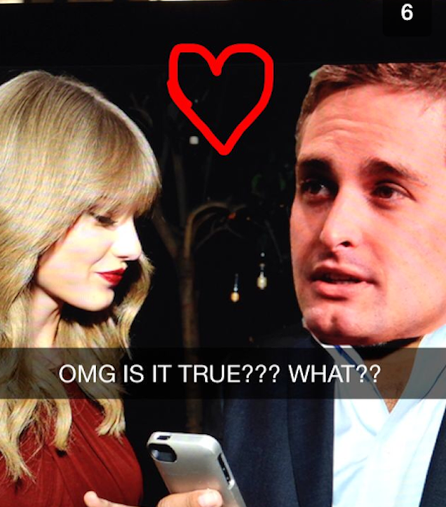 Did Taylor Swift and Snapchat CEO Evan Spiegel Totally Make Out?