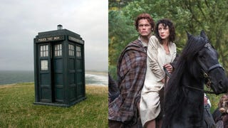 Because He's Smart, Sam Heughan Wants a <i>Doctor Who/Outlander </i>Crossover