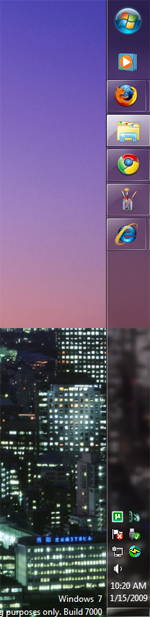 Win 7 Tip: The Taskbar Is the Most Useful New UI Change