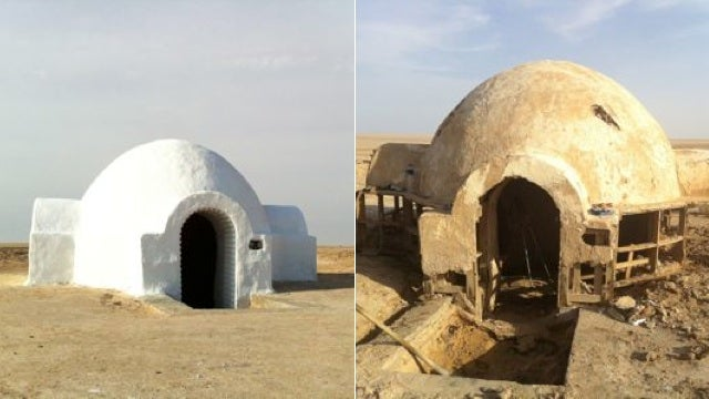 Star Wars Nerds Restore Luke Skywalker's Home IRL