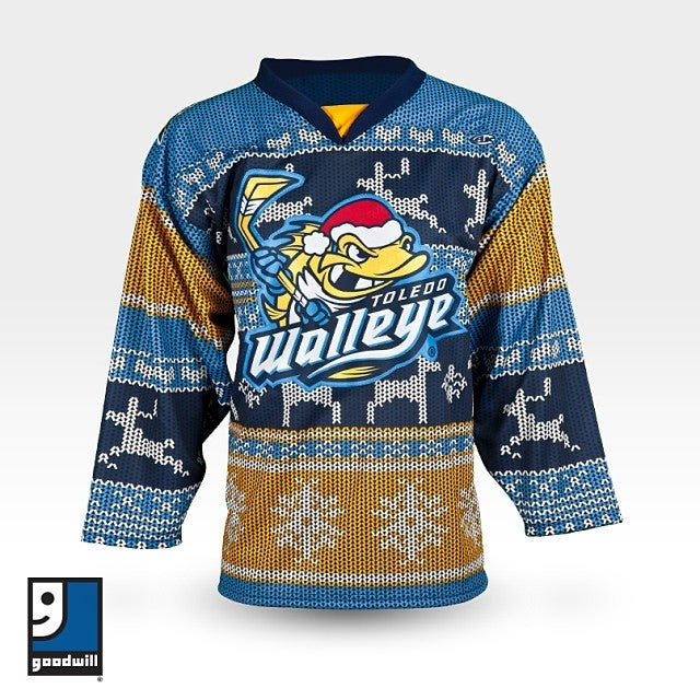 Hockey Team's Ugly Sweater Jersey Is Definitely Ugly