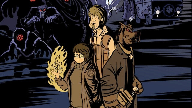 We would read this Scooby-Doo/Hellboy mash-up in a demon Great Dane's heartbeat