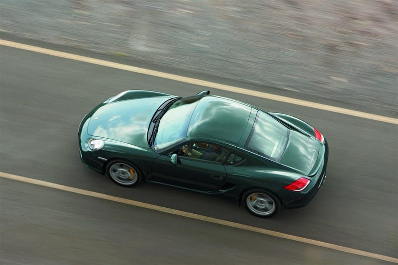 2009 Porsche Cayman Comes To LA, Brings Optional Limited Slip Differential