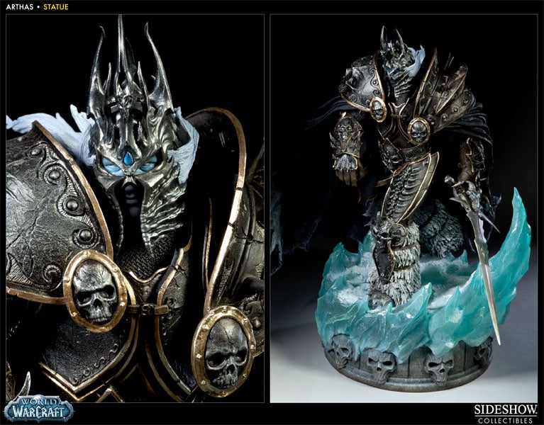 "WoW's Lich King is ""Only"" 19"" Tall in the Real World"