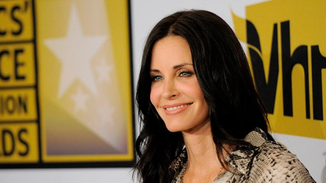Courteney Cox Says She Hasn't Had Sex in a Year