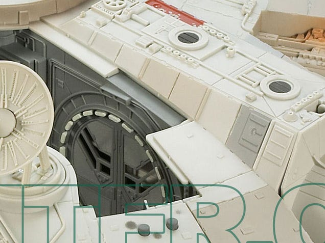 Stunning Hasbro Millennium Falcon Jumps Out of Hyperspace