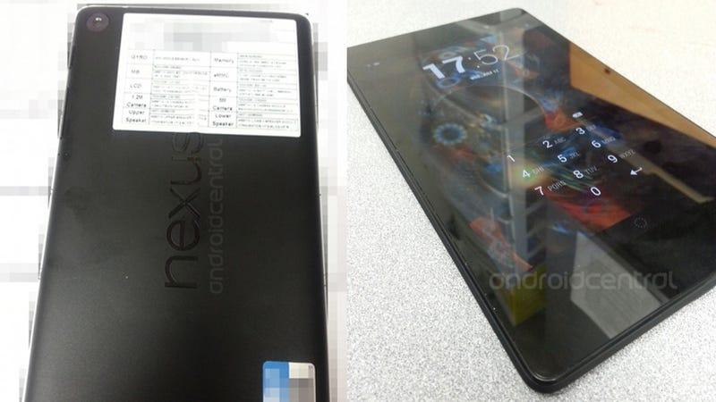 Is This the Next Google Nexus 7?