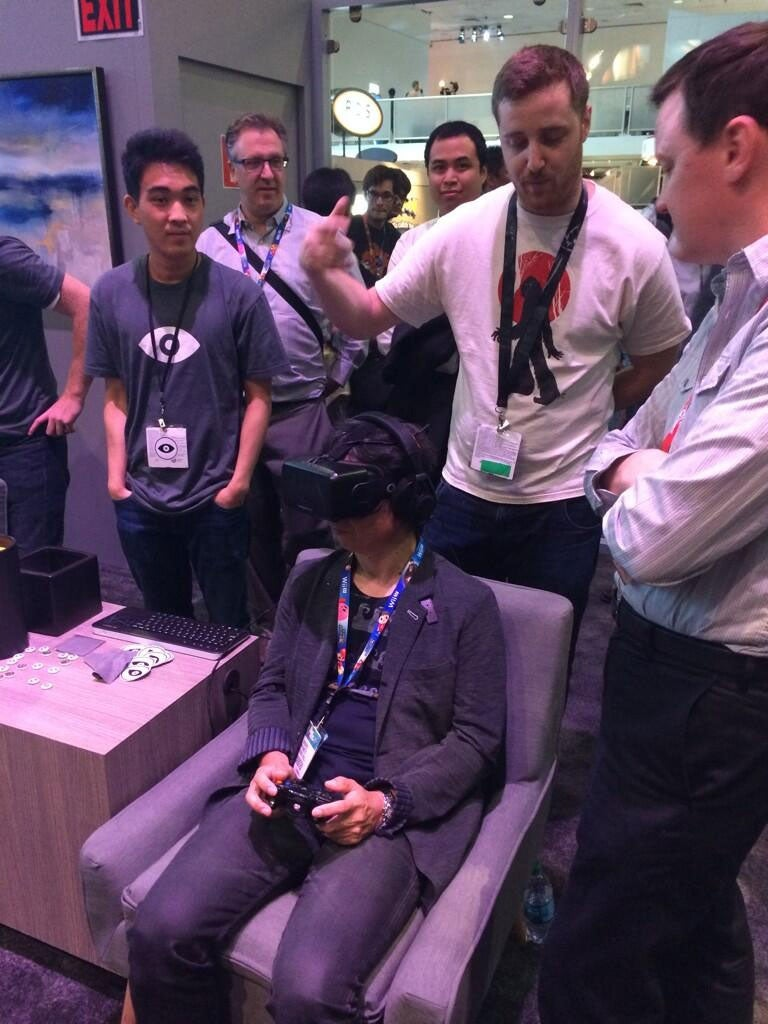Miyamoto Tries Oculus Rift. Oh, The Possibilities.