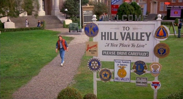 Secret movie club is recreating 'Back to the Future' sets for screening